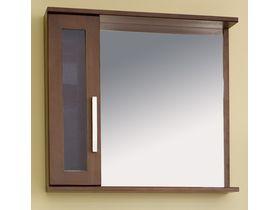 Зеркало в ванную со шкафчиком и подсветкой Polo