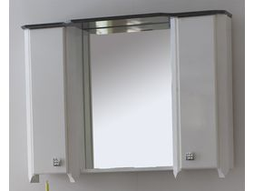 Зеркало с гранитной панелью и шкафчиками Royal Комфорт K(M)