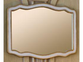 Зеркало для ванной Royal Престиж 115А (цвет белый с золотой патиной)