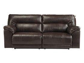 Большой двухместный диван с консолью и реклаинером Barrettsville DuraBlend®