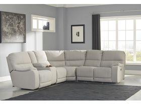 Угловой диван Bohannon с реклаинером