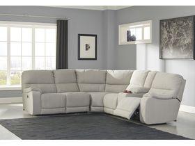 Угловой модульный диван Bohannon с реклаинером
