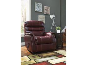 Кожаное кресло Bridger с реклаинером - Roma