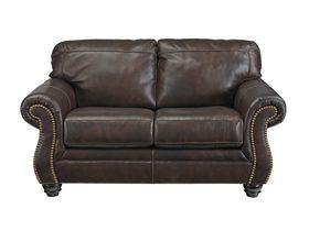 Двухместный кожаный диван Bristan