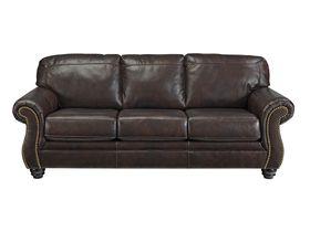 Трехместный кожаный диван Bristan
