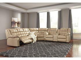 Угловой диван из экокожи Brolayne DuraBlend®