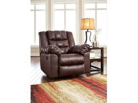 Кресло из экокожи Brolayne DuraBlend® - Saddle