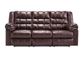 Трехместный диван из экокожи Brolayne DuraBlend® - Saddle
