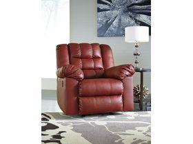 Кресло из экокожи Brolayne DuraBlend® - Garnet