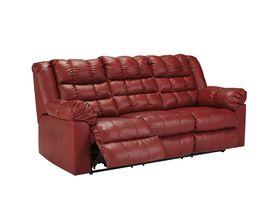 Трехместный диван из экокожи Brolayne DuraBlend® - Garnet