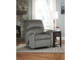 Поворотное кресло Bronwyn - Alloy с реклаинером