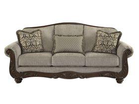 Классический диван-тройка Cecilyn