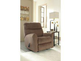 Кресло с реклаинером Cossette - Cocoa