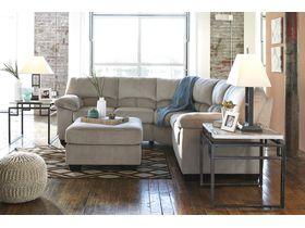 Угловой диван из ткани Dailey