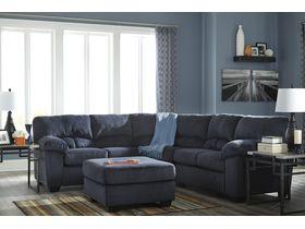 Угловой диван из ткани Dailey - Midnight