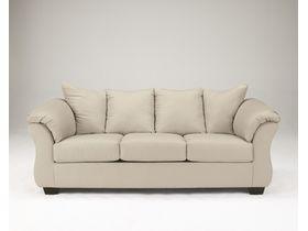 Трехместный диван из ткани Darcy - Stone