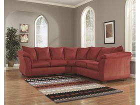 Угловой диван из ткани Darcy - Salsa