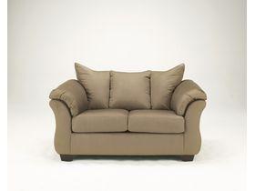 Двухместный диван из ткани Darcy - Mocha