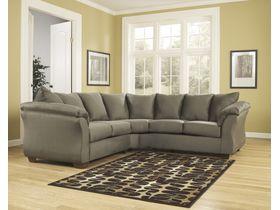 Угловой диван из ткани Darcy - Sage
