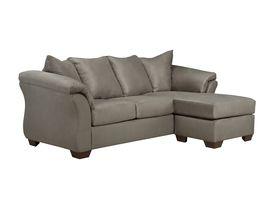 Маленький угловй диван Darcy - Cobblestone