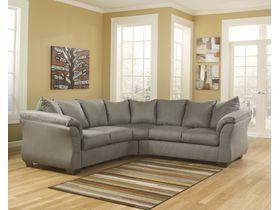 Угловой диван из ткани Darcy - Cobblestone