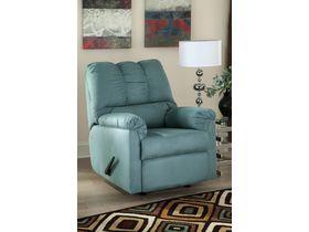 Кресло с реклаинером Darcy - Sky