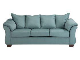 Трехместный диван из ткани Darcy - Sky