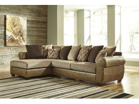 Угловой диван из ткани Declain