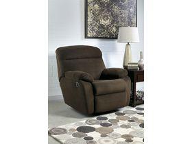 Мягкое кресло Demarion с реклаинером - Chocolate