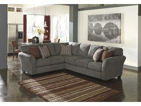 Угловой диван из ткани Doralin