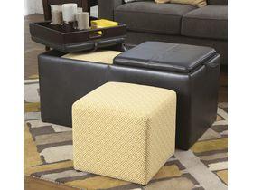 Пуфик-столик с ящиками Hodan