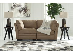 Модульный двухместный диван Iago - Mocha