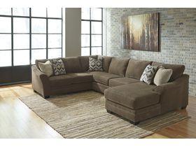Угловой диван из ткани Justyna