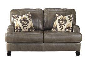 Двухместный кожаный диван Kannerdy