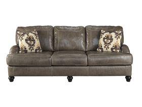 Трехместный кожаный диван Kannerdy