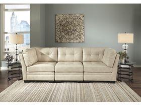 Модульный трехместный диван Khalil DuraBlend®
