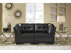 Модульный двухместный диван Khalil DuraBlend® - Black