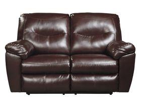 Двухместный диван из экокожи Kilzer DuraBlend® - Mahogany
