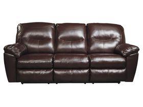 Трехместный диван из экокожи Kilzer DuraBlend® - Mahogany
