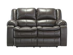 Двухместный диван Long Knight с реклаинером - Gray