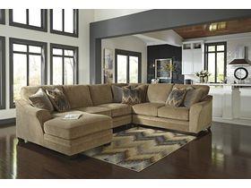 Угловой диван из ткани Lonsdale