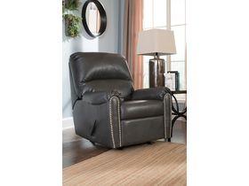 Кресло из кожзам Lottie DuraBlend® с реклаинером - Slate