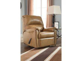 Кресло из кожзам Lottie DuraBlend® с реклаинером - Almond