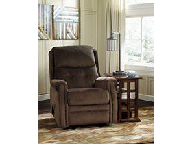 Кресло с подголовником Meadowbark - Chocolate