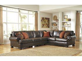 Угловой диван из экокожи Nesbit DuraBlend® (Композиция 1)
