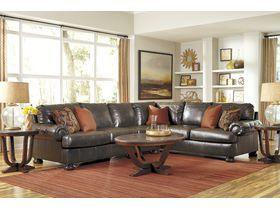 Модульный диван из экокожи Nesbit DuraBlend®