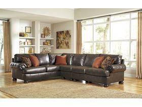 Угловой диван из экокожи Nesbit DuraBlend® (Композиция 2)