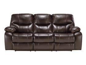Раскладной трехместный диван Pranas из кожзам