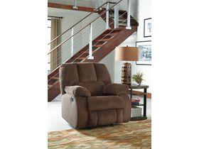 Кресло из ткани Roan с реклаинером - Cocoa