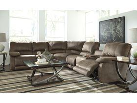 Модульный диван премиум класса Seamus с реклаинером